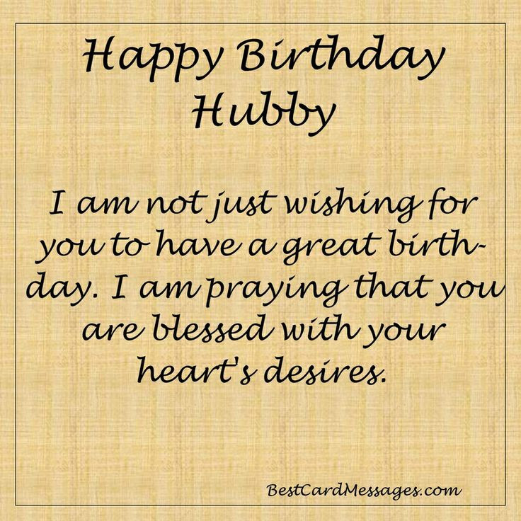 Husband Birthday Card Messages  Husband Birthday Card Messages Quotes