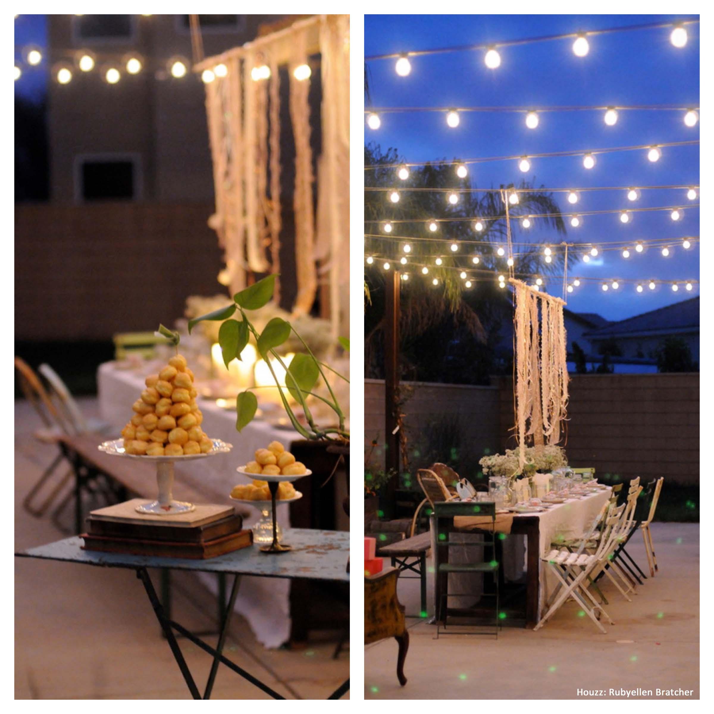 Ideas For Backyard Party  Backyard Party Ideas