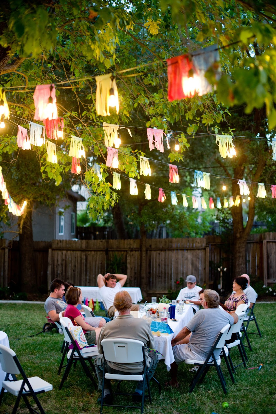 Ideas For Backyard Party  Domestic Fashionista Backyard Fall Celebration
