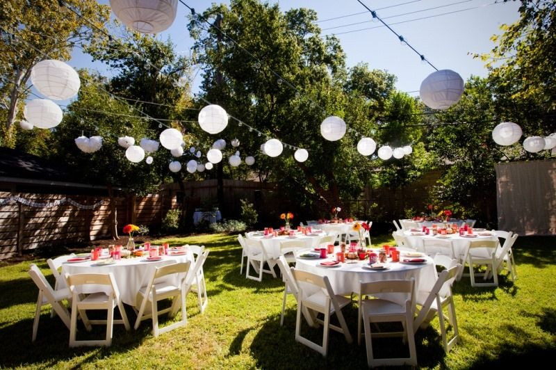 Ideas For Backyard Party  Backyard Party Ideas For Adults