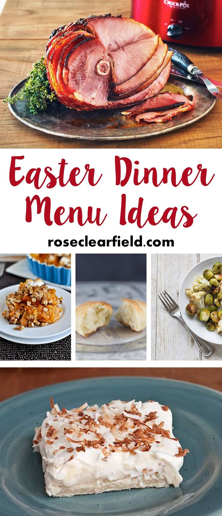 Ideas For Easter Dinner Party  25 Best Ideas about Easter Dinner Menu Ideas on Pinterest