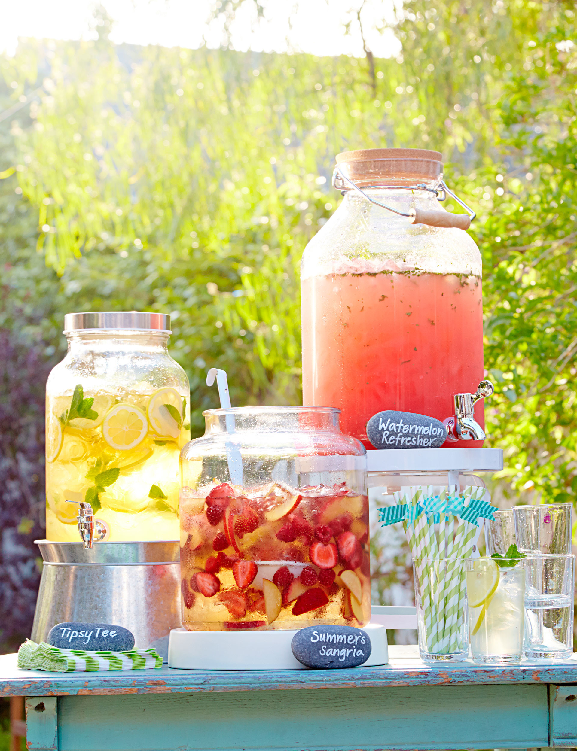 Ideas For Summer Party  Backyard Party Ideas And Decor Summer Entertaining Ideas