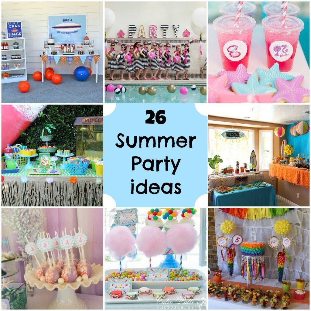 Ideas For Summer Party  Summer Party Ideas Michelle s Party Plan It
