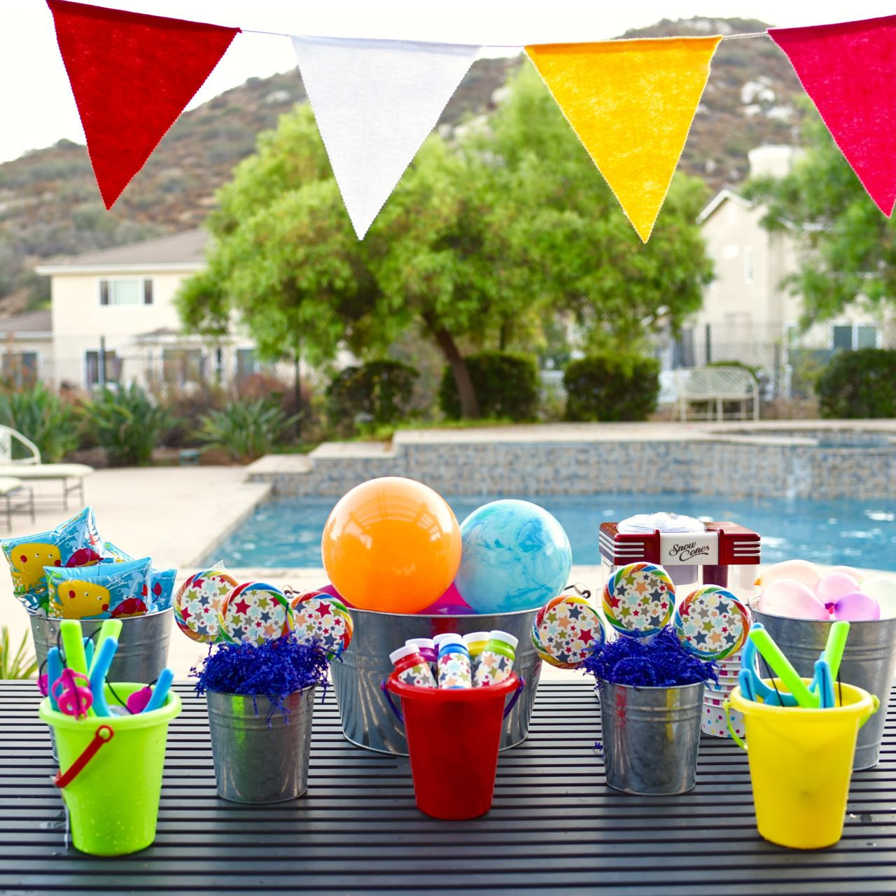 Ideas For Summer Party  Fun Kids Summer Party Ocean Sensory Bin Make Life Lovely