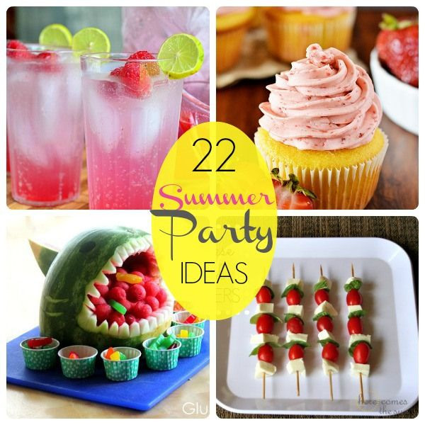 Ideas For Summer Party  Great Ideas 22 Summer Party Food Ideas