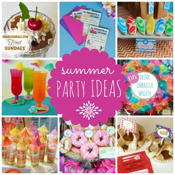 Ideas For Summer Party  Summer Parties Airplane Parties and Movie Night Ideas