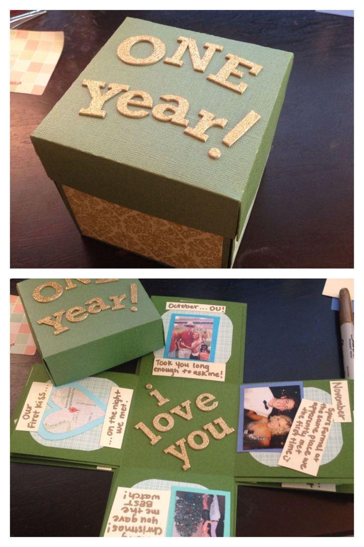 Ideas Gift For Girlfriend  25 best Anniversary Ideas on Pinterest