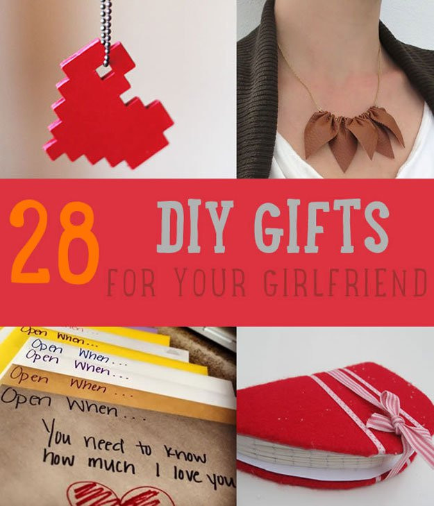Ideas Gift For Girlfriend  28 DIY Gifts For Your Girlfriend