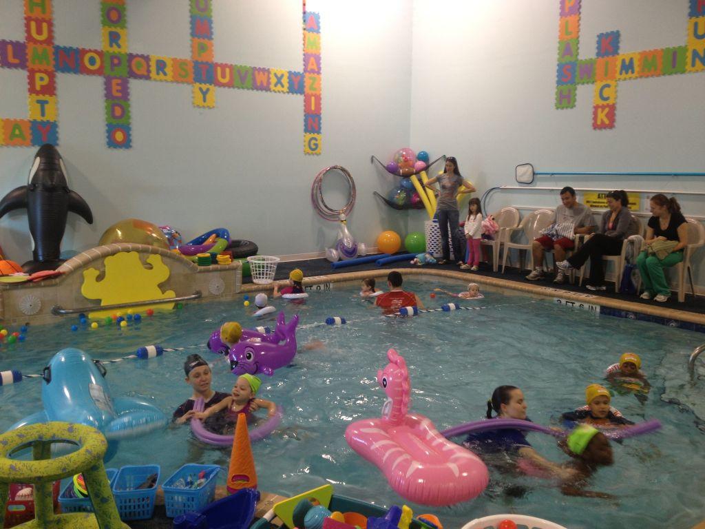 Indoor Pool Party Ideas  July 2013 The British Swim School in Wellington
