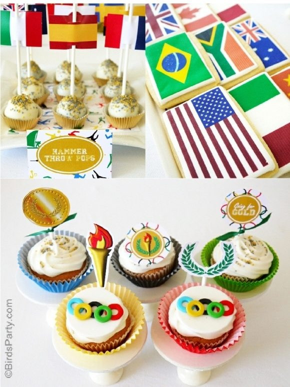 International Dinner Party Ideas  Ask Amy Olympic Themed Party Ideas
