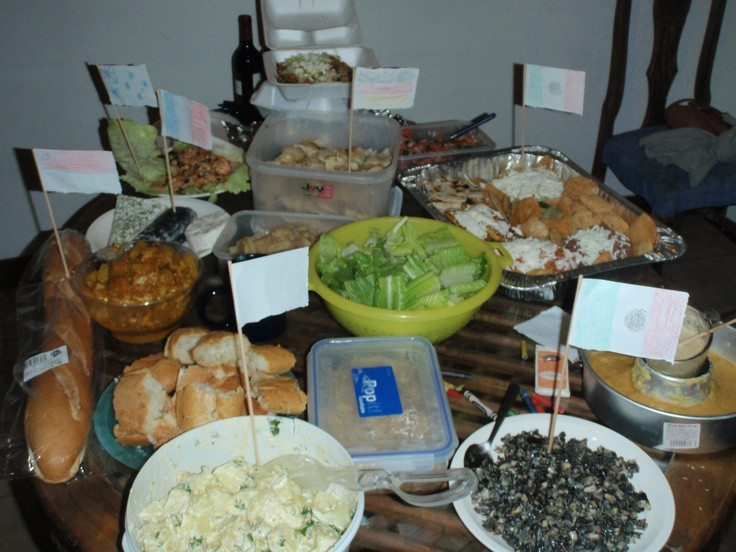 International Dinner Party Ideas  International dinner party