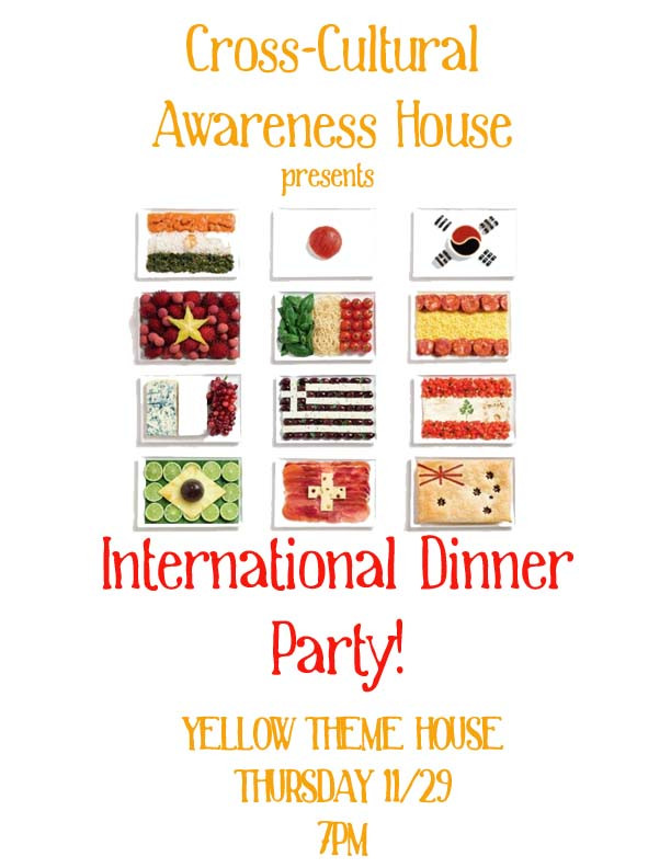 International Dinner Party Ideas  International Dinner Party