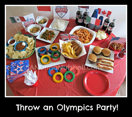 International Dinner Party Ideas  Olympic inspired crafts Pinterest edition