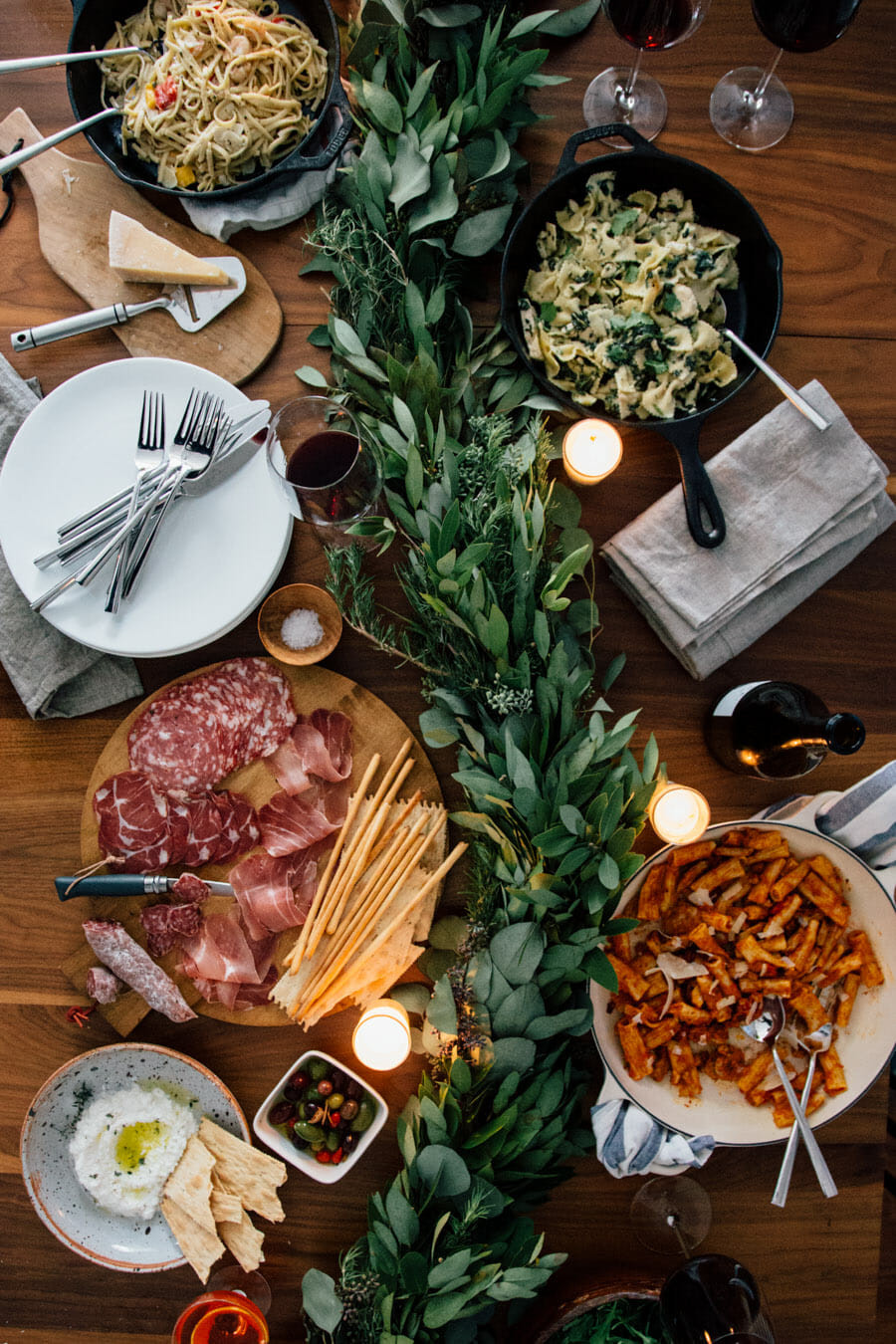 Italian Menu Ideas For Dinner Party  Foreign Cinema Hosting a Dinner and a movie party
