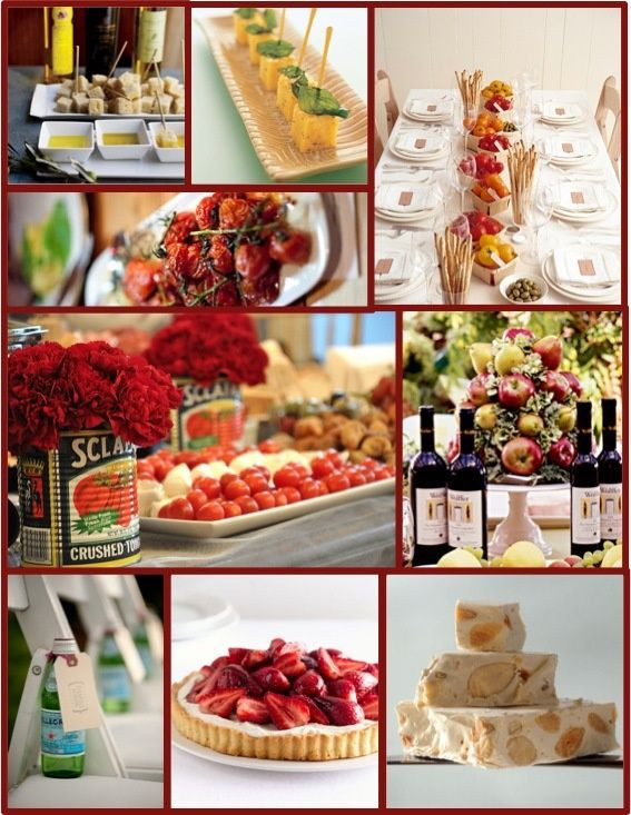 Italian Menu Ideas For Dinner Party  25 best ideas about Italian themed parties on Pinterest