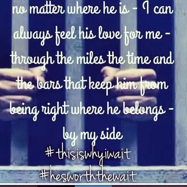 Jail Relationship Quotes  ilovemyinmate Poem Pinterest