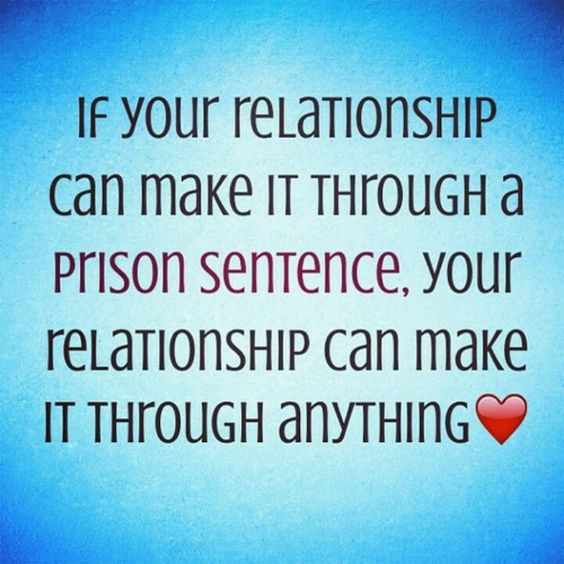 Jail Relationship Quotes  Prison Inmate Incarceration