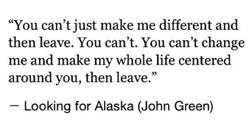 John Green Love Quotes  love tumblr quotes john green looking for alaska