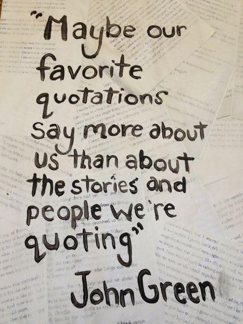 John Green Love Quotes  25 best ideas about John Green Tattoos on Pinterest