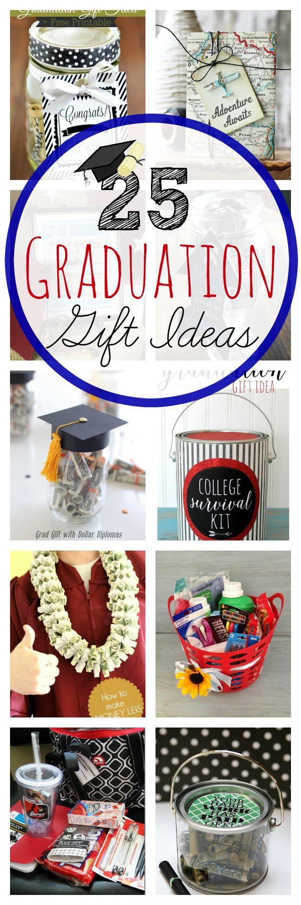 Jr High Graduation Gift Ideas  25 best ideas about Graduation Gift Baskets on Pinterest