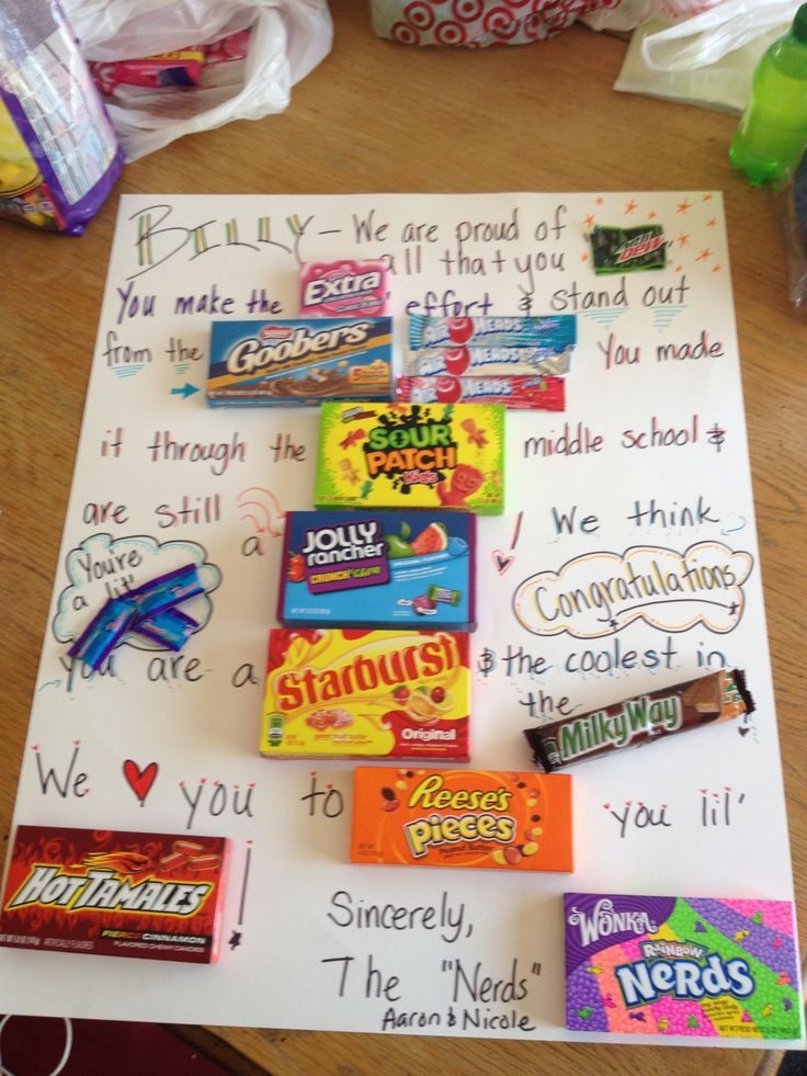 Jr High Graduation Gift Ideas  17 Best images about middle school graduation party on