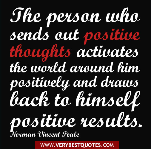 Keeping Positive Quote  ITS ALL IN YOUR HEAD