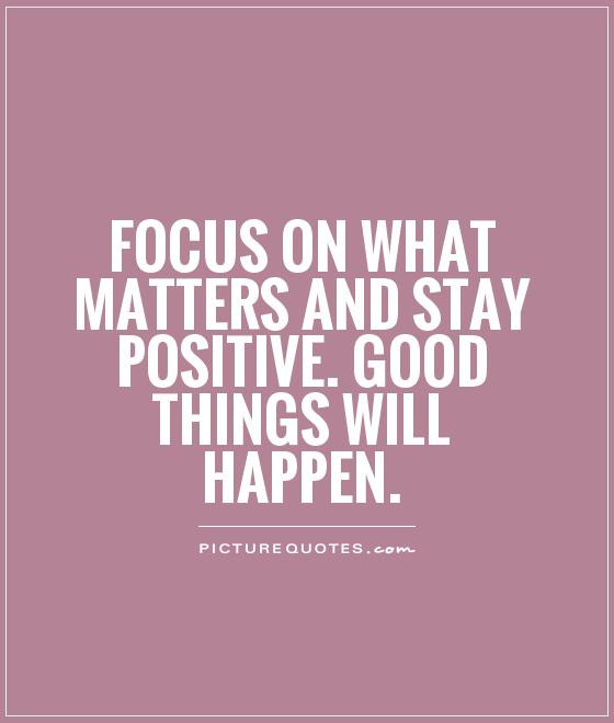 Keeping Positive Quote  Wanderer Earth November 2014