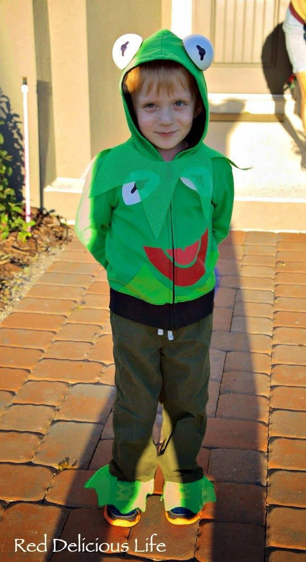 Kermit The Frog Costume DIY  14 best images about costumes on Pinterest