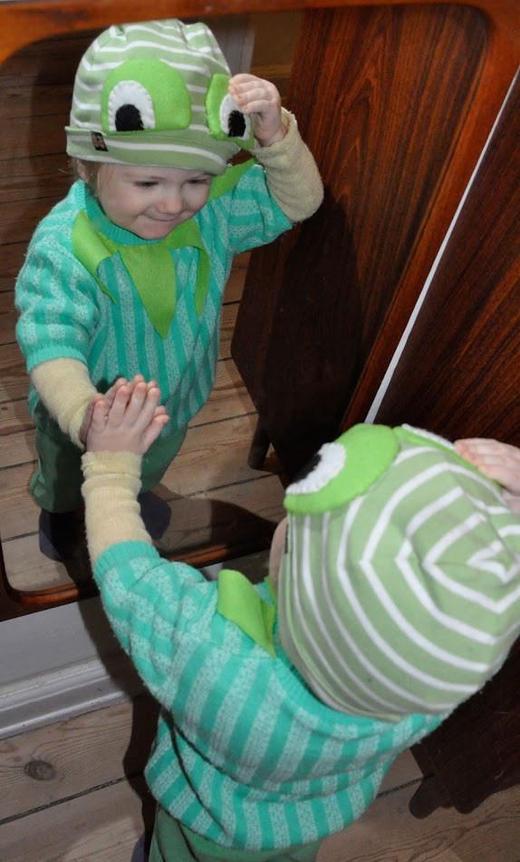 Kermit The Frog Costume DIY  CARPE ITEM februar 2012