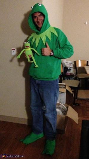 Kermit The Frog Costume DIY  Kermit the Frog cute DIY baby costume