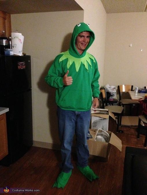 Kermit The Frog Costume DIY  Kermit the Frog Costume
