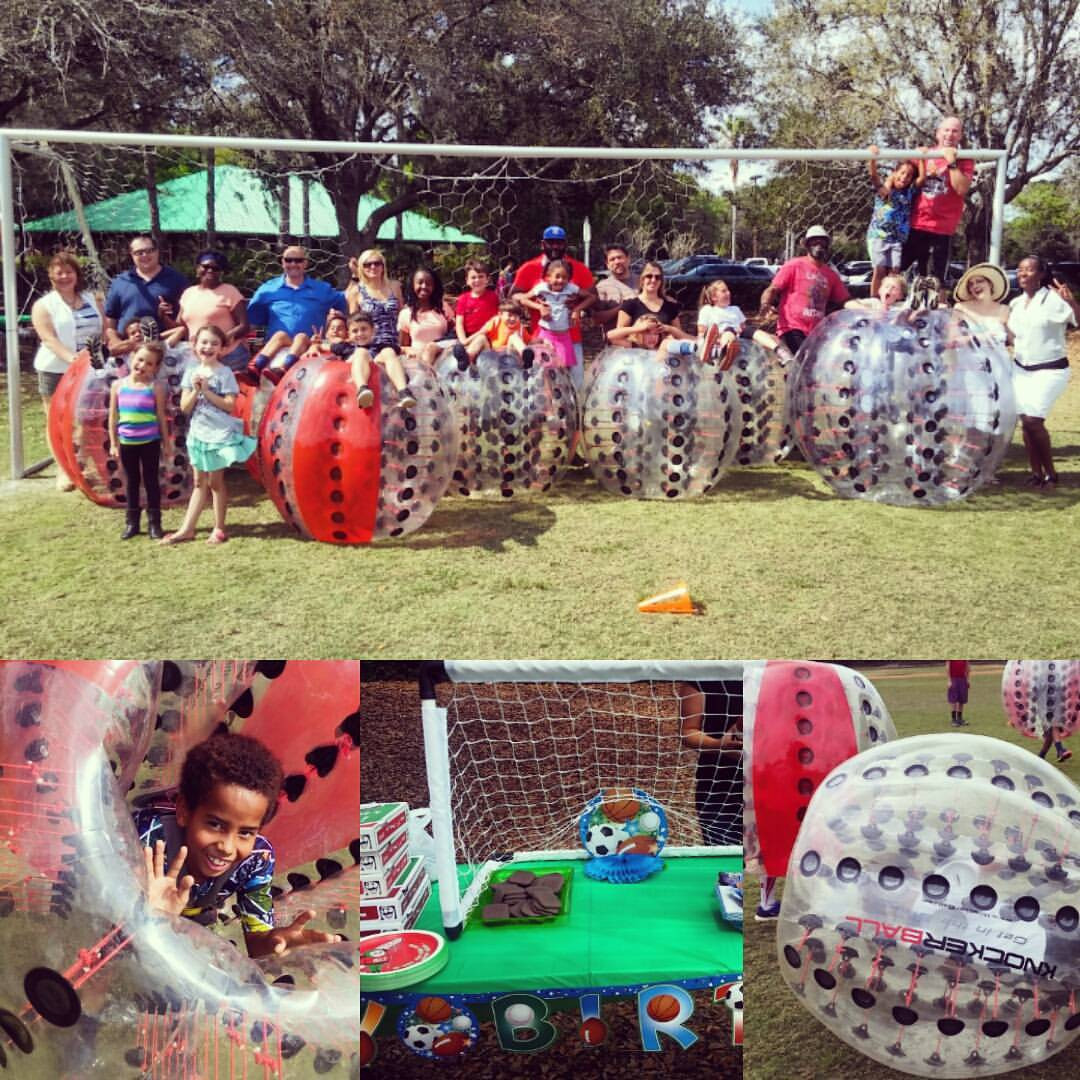 Kids Birthday Party Tampa  Knockerball Tampa Bay Birthday Party Rentals