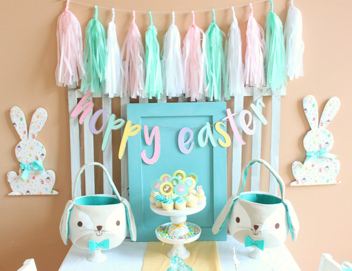 Kids Easter Birthday Party Ideas  Kara s Party Ideas Hoppy Easter Party for Kids