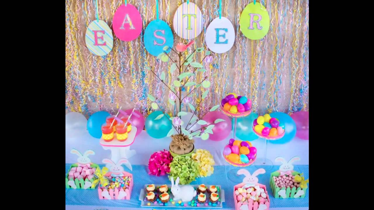 Kids Easter Birthday Party Ideas  at home Easter Party ideas for kids