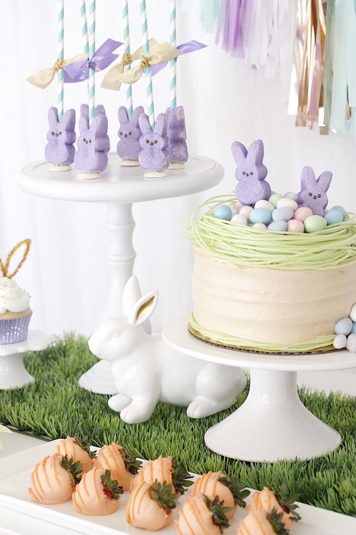 """Kids Easter Birthday Party Ideas  Kara s Party Ideas """"Bunny Bash"""" Easter Party for Kids"""