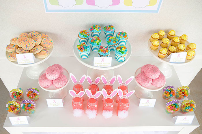 Kids Easter Birthday Party Ideas  Kara s Party Ideas Easter Party for Kids with FREE