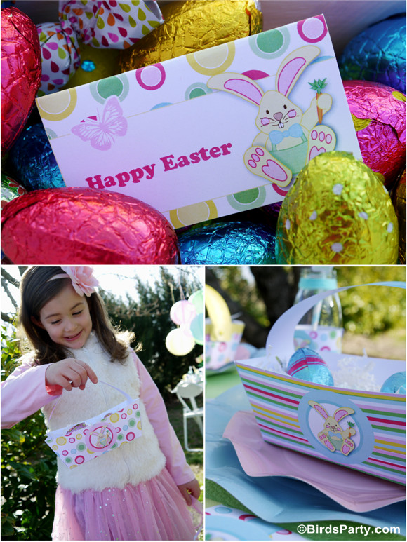 Kids Easter Birthday Party Ideas  Kid s Easter Egg Hunt Party and Printables Party Ideas