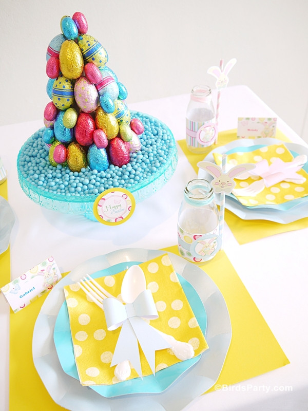 Kids Easter Birthday Party Ideas  Easter Kids Brunch & DIY Party Ideas Party Ideas