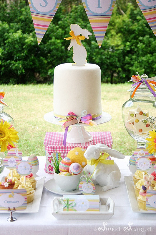 Kids Easter Birthday Party Ideas  Easter party ideas for kids