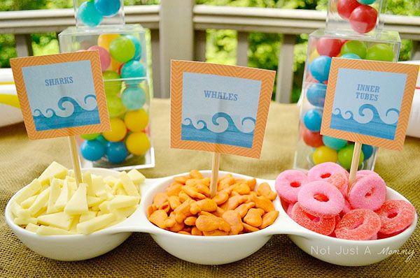 Kids Pool Party Food Ideas  Pool Party Food Ideas Birthday party ideas