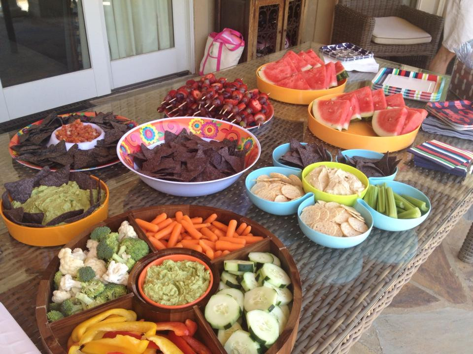 Kids Pool Party Food Ideas  Healthy Pool Party Food for Kids and Adults