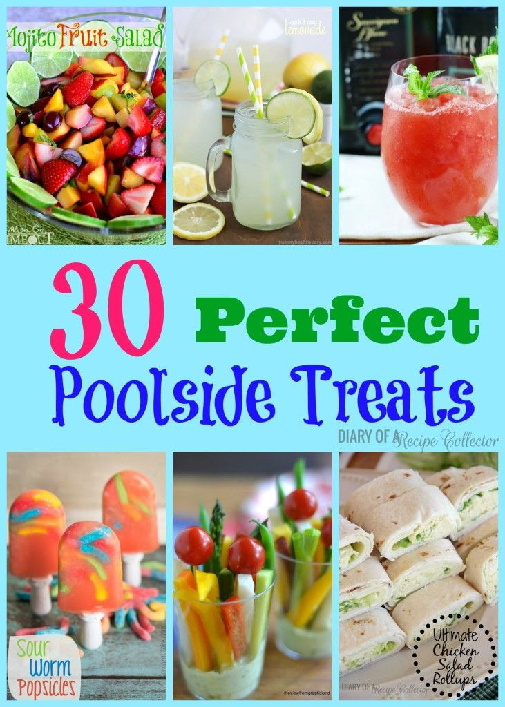 Kids Pool Party Food Ideas  Poolside Treats house party