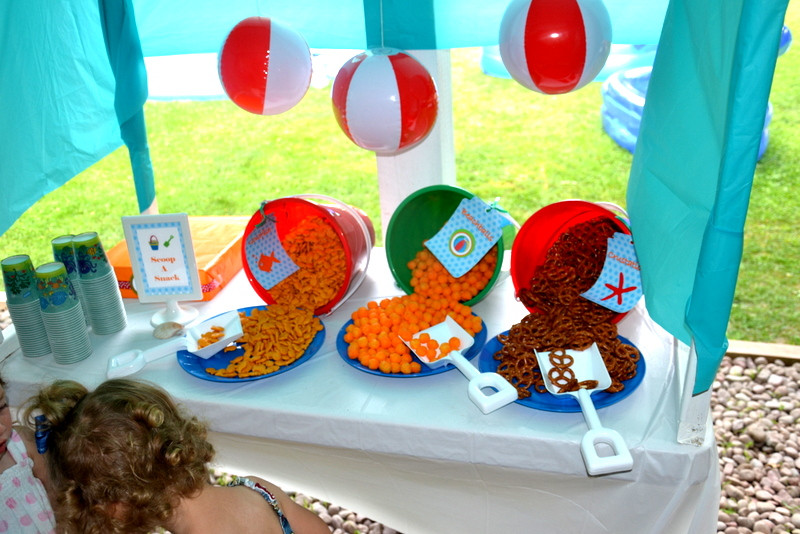 Kids Pool Party Food Ideas  Backyard Beach Party on a Bud