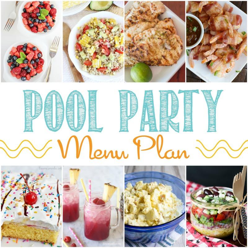 Kids Pool Party Food Ideas  Pool Party Menu Plan Bread Booze Bacon