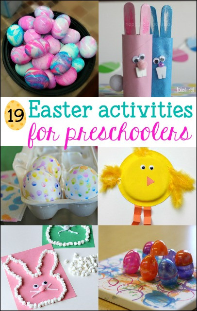 Kindergarten Easter Party Ideas  19 Fun Easter Activities for Preschoolers Mess for Less