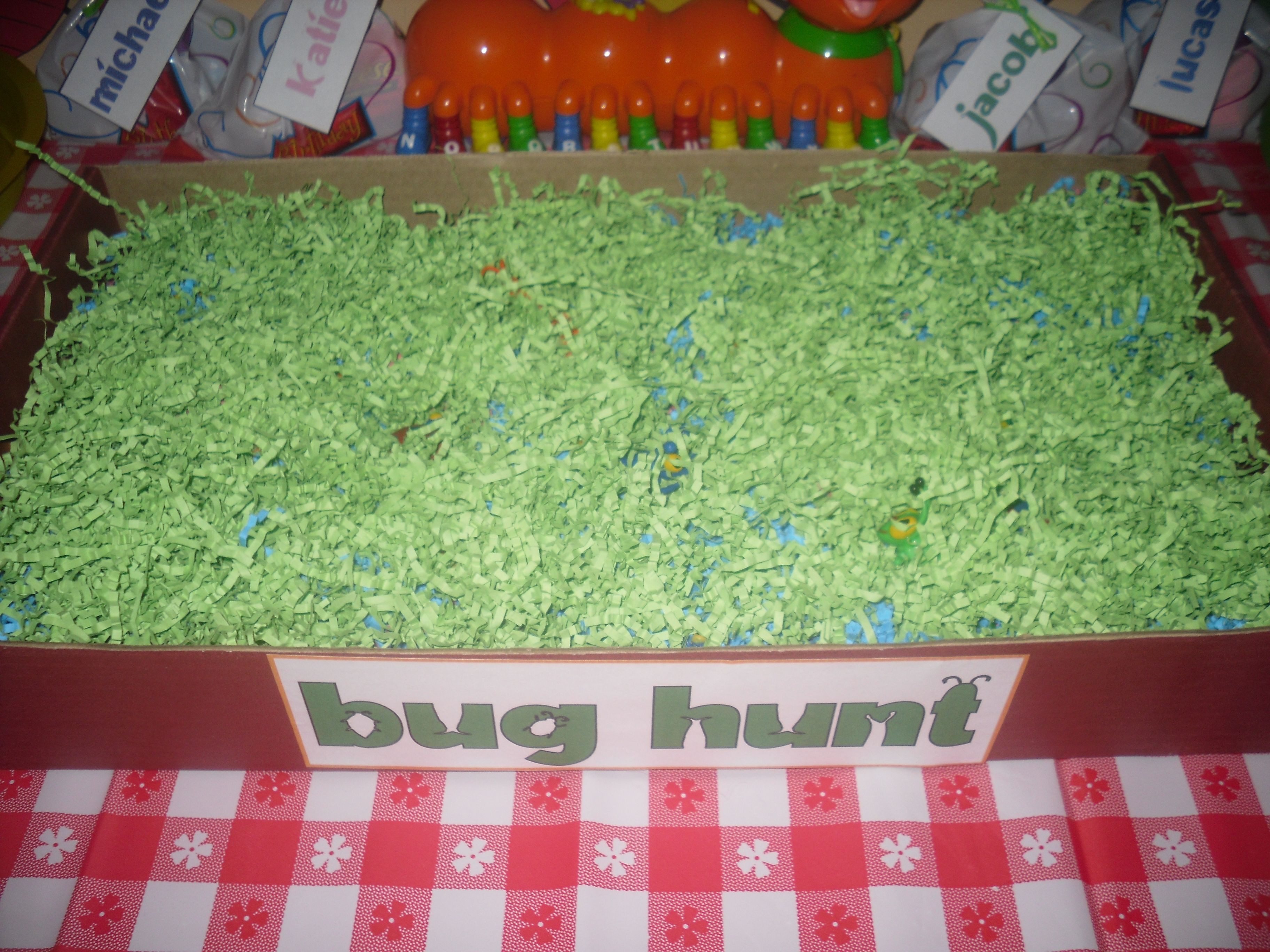 Kindergarten Easter Party Ideas  Dig for treasures in Easter grass or shredded paper Use