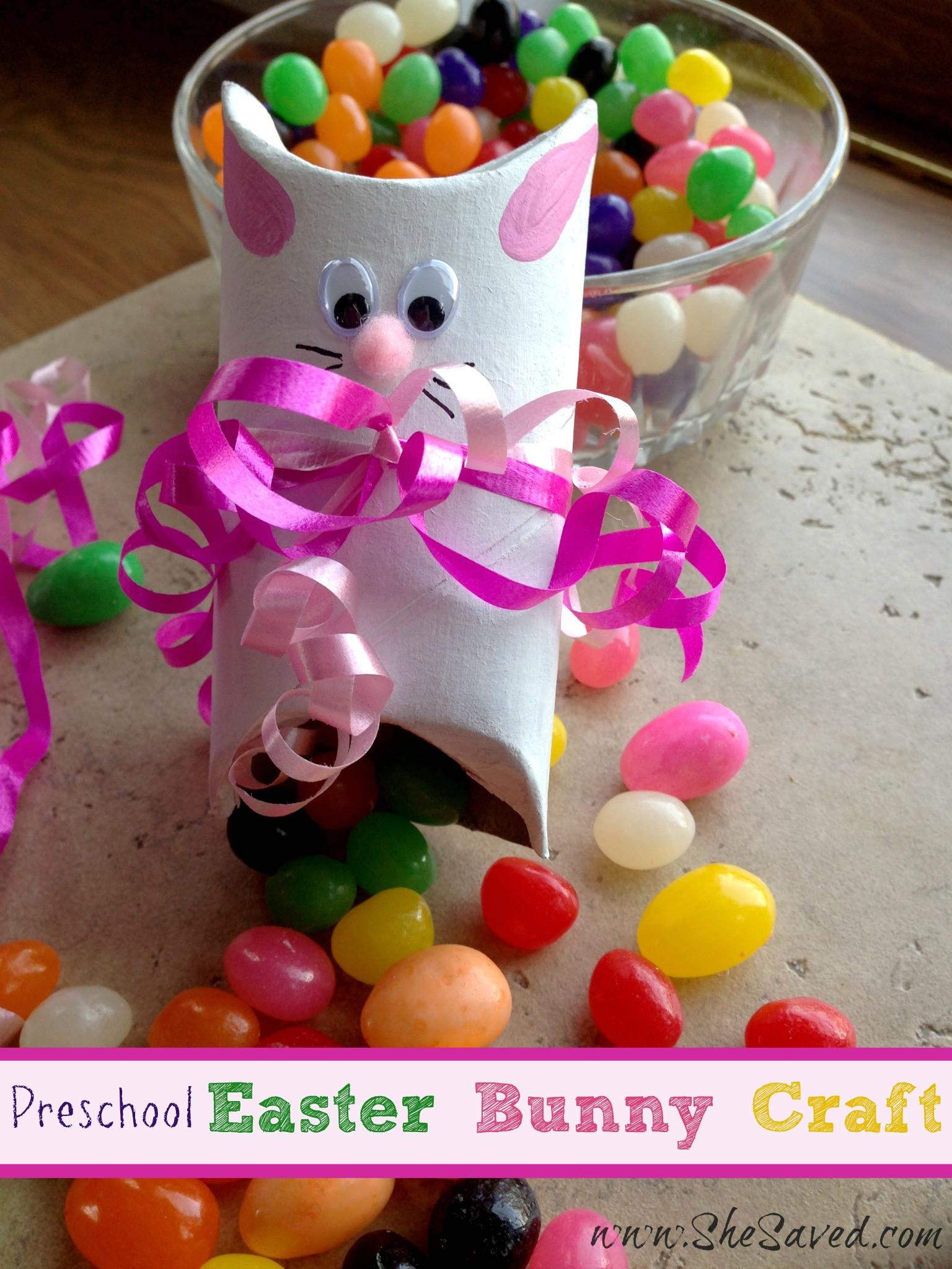 Kindergarten Easter Party Ideas  Preschool Easter Bunny Crafts SheSaved