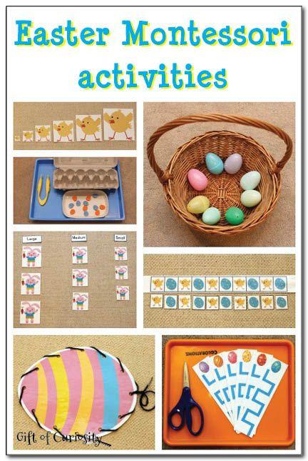Kindergarten Easter Party Ideas  Easter Montessori activities
