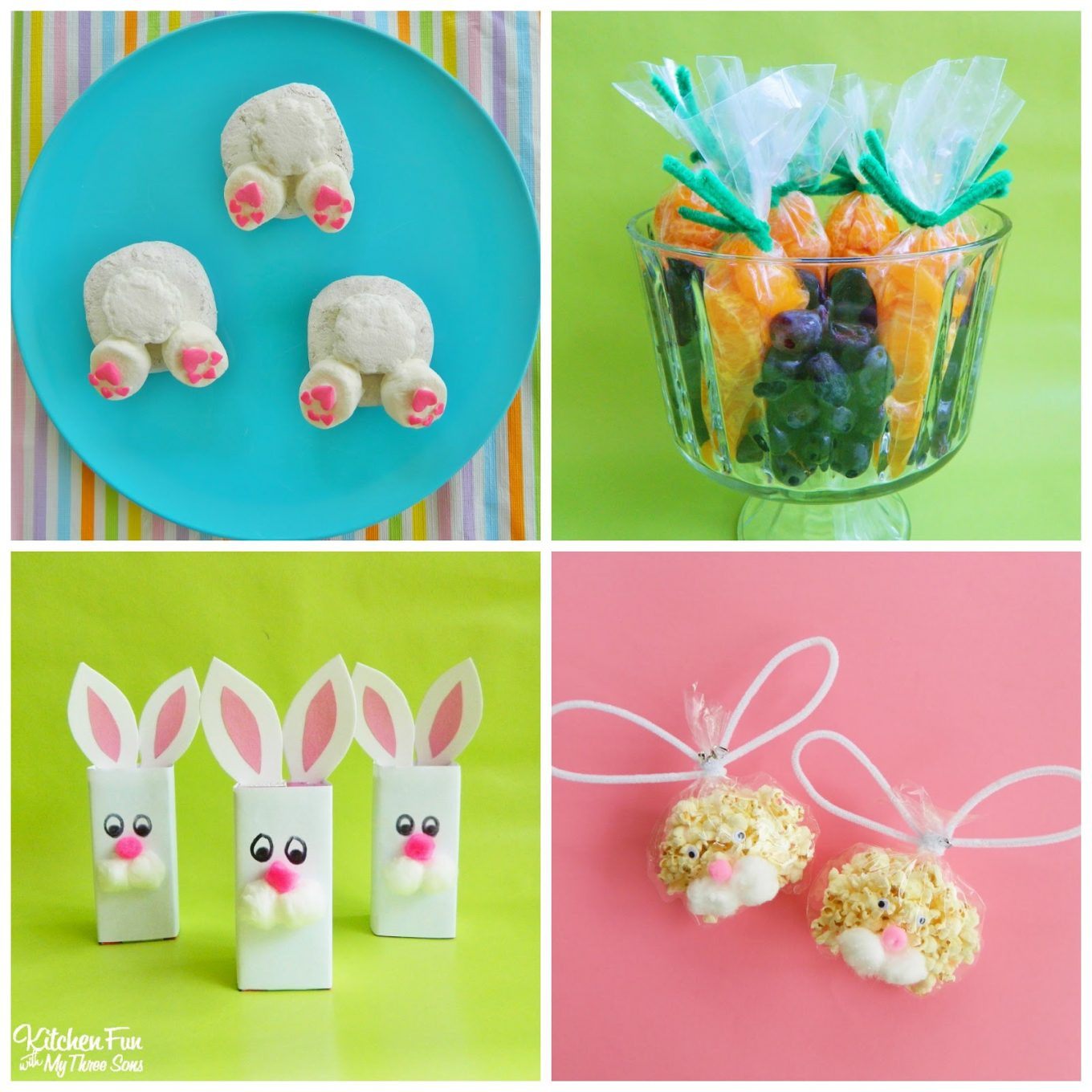 Kindergarten Easter Party Ideas  Preschool Easter Party with Bunny Butt Donuts Fruit