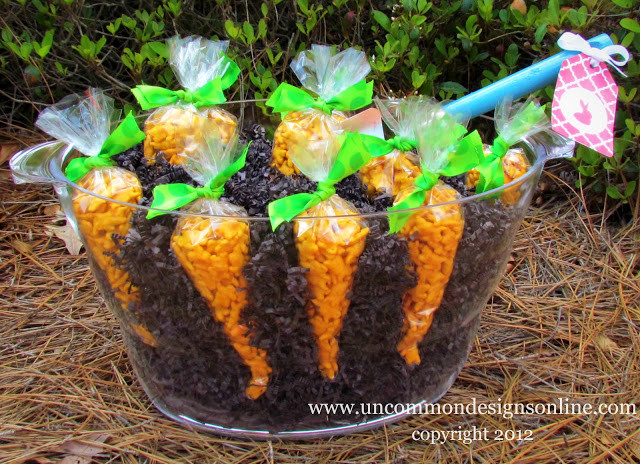 Kindergarten Easter Party Ideas  Carrot Patch Easter Treat